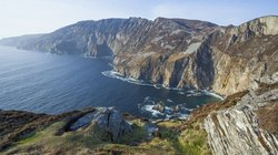 Slieve League in Irland
