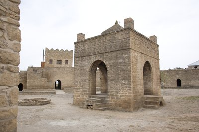 Ateshgah Fire Temple, Aserbaidschan