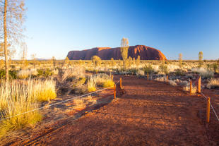 Ayers Rock bei Tagesanbruch