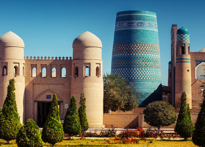 Itchan Kala in Khiva