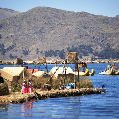 Uros Inseln, Titicacasee