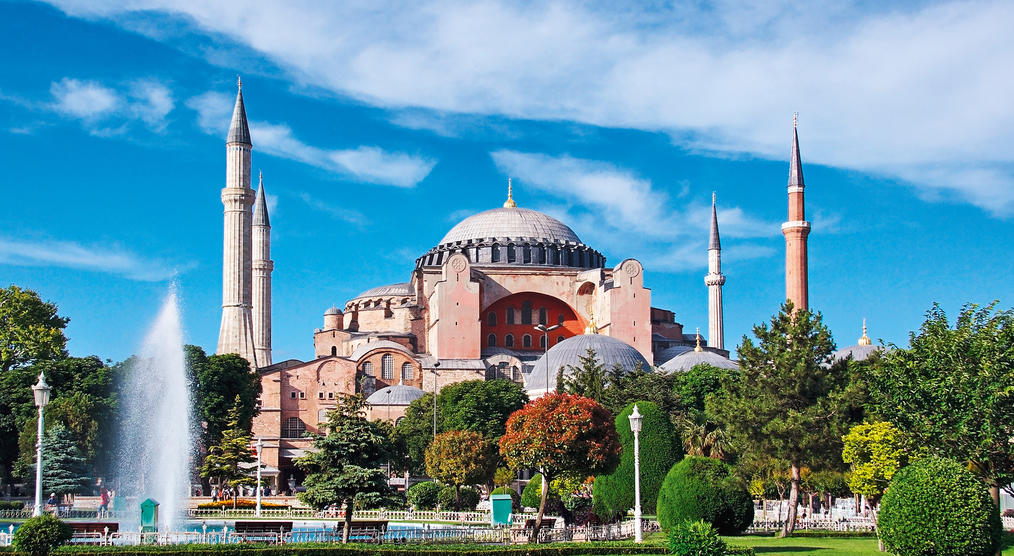 Hagia Sophia Moschee in Istanbul
