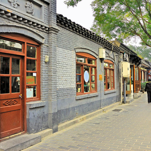 Hutongs in Peking