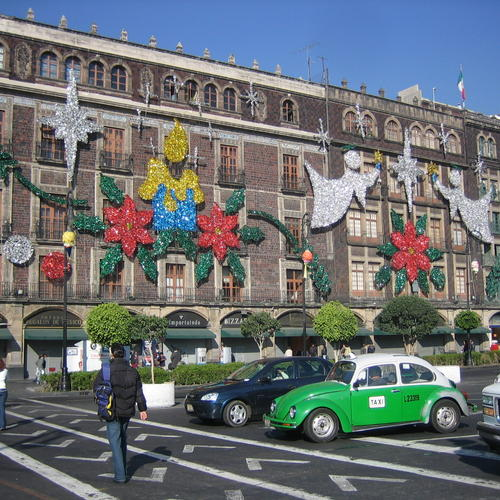 Mexico City, am Hauptplatz