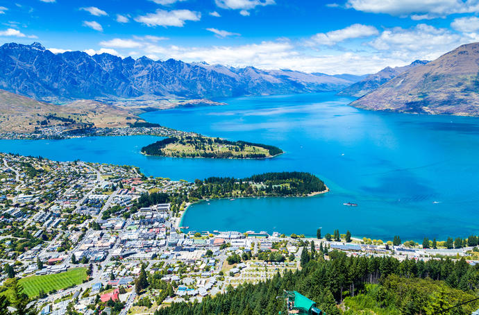 Gegend um Queenstown