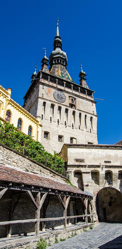 Turmuhr in Sighisoara