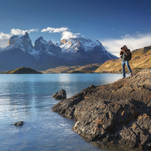 Perfekte Fotomotive im Torres del Paine Nationalpark