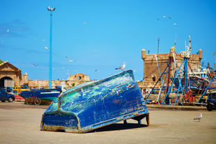 Traditioneller Hafen in Essaouira