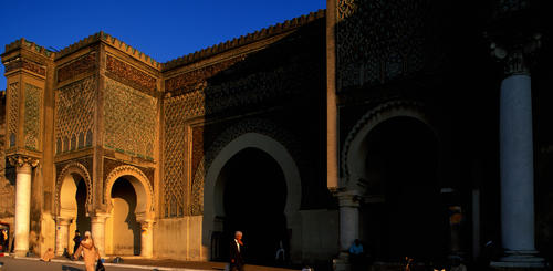 Bab Monseur in Meknes
