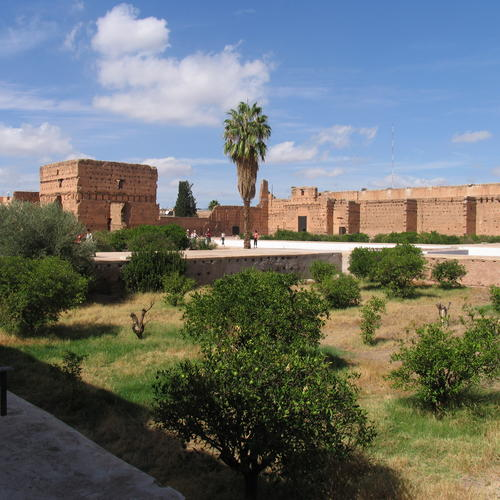 Palais El-Badi in Marrakesch