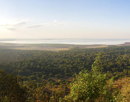 Panorama vom Lake Manyara Nationalpark