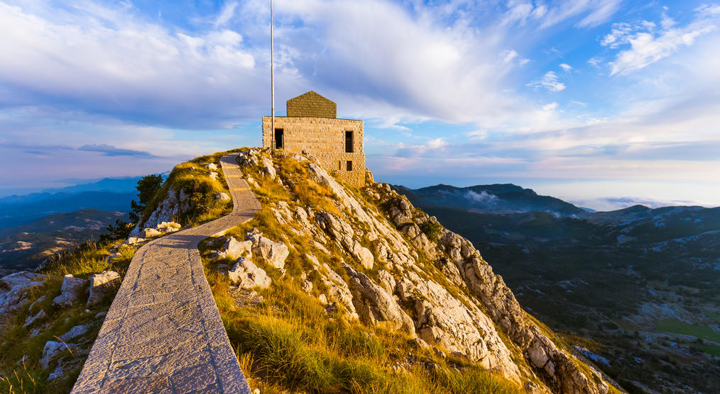 Lovcen Mountains Nationalpark