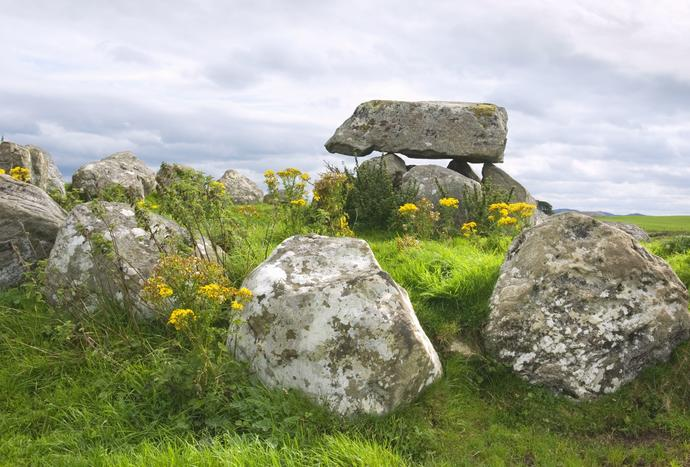 Megalithanlage in Carrowmore