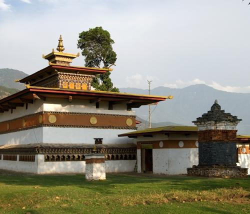 Fruchtbarkeitstempel Chimi-Lhakhang