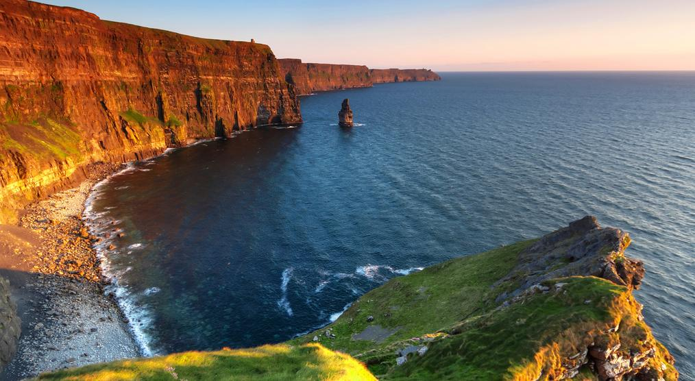Cliffs of Moher bei Sonnenuntergang