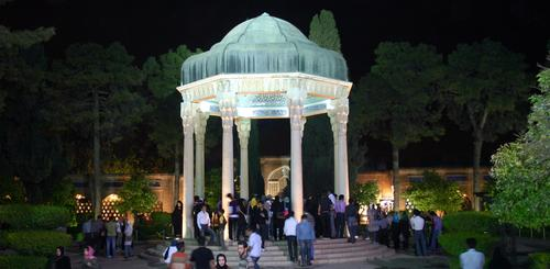 Hafis Sadi Mausoleum in Shiraz