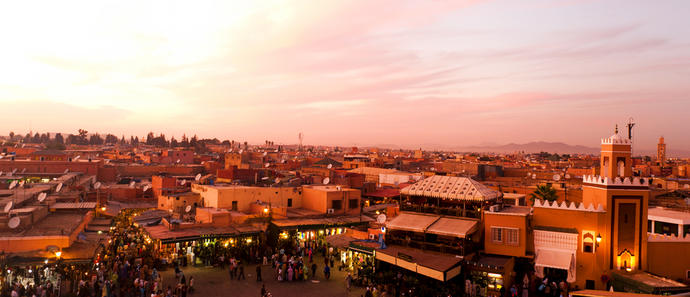 Marrakesch Panorama
