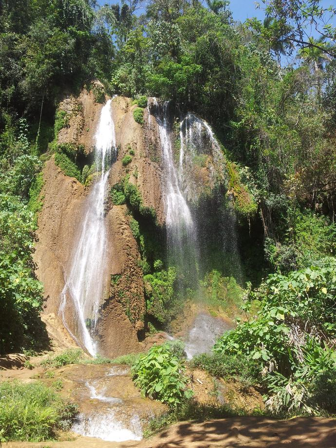 Wasserfall im Nationalpark Topes de Collantes