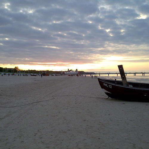 Strand bei Ahlbeck