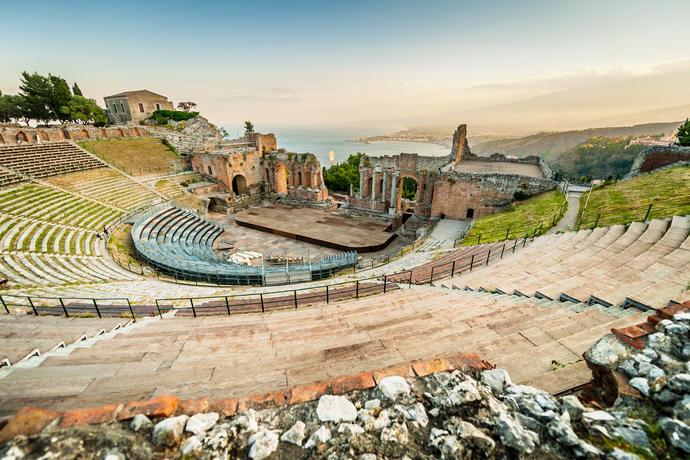 Griechisches Theater in Taormina