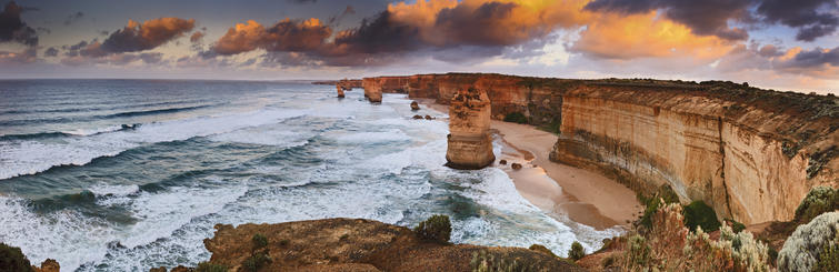 Great Ocean Road Panorama