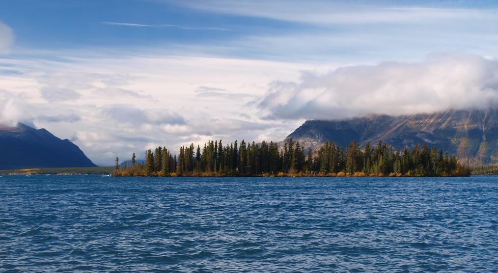 Atlin Lake in britisch Columbia