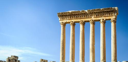 Jupiter-Tempel in Baalbek