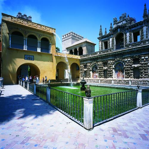 Real Alcázar  in Sevilla