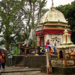 Bindebashini Tempel in Pokhara