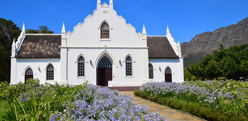 Dutch Reform Church in Franschhoek