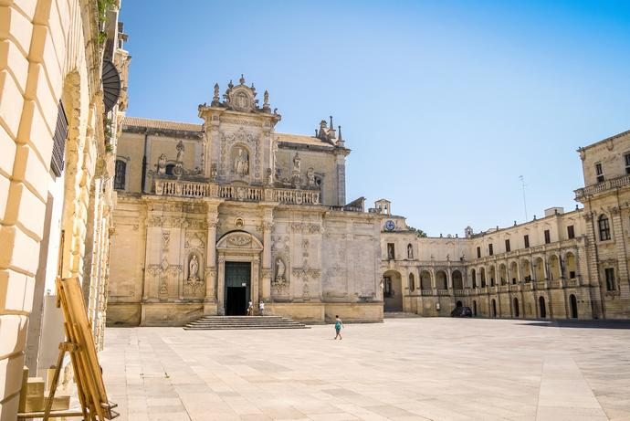 Kathedrale in Lecce