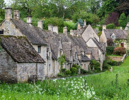Arlington Row Cottages in Bibury