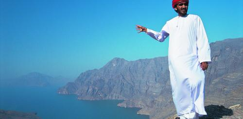 Mann in Musandam