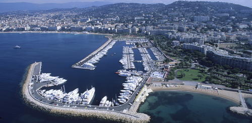 Yachthafen in Cannes