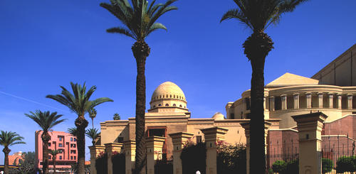 Koenigliches Stadttheater in Marrakesch