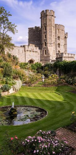 Windsor Castle Garten