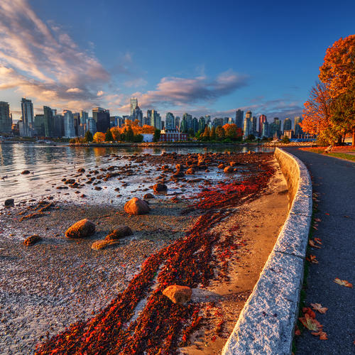 Vancouver im Herbst