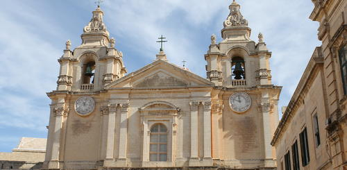 Barockkathedrale St. Paul's in Mdina