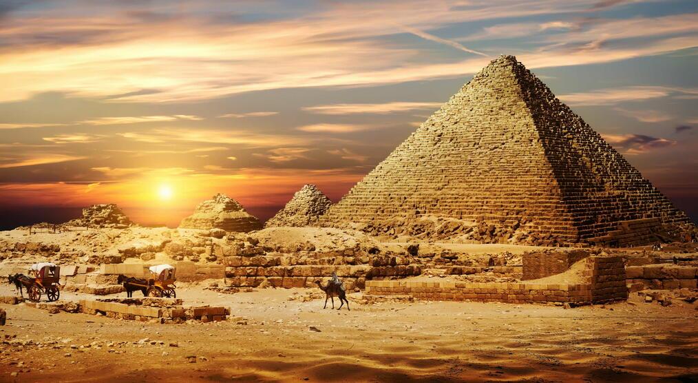 wie wurden die pyramiden gebaut
