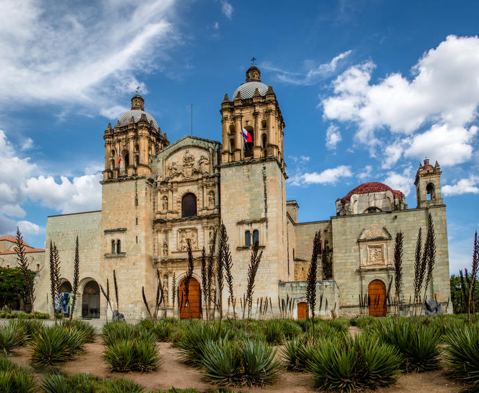 Santo Domingo Kirche in Oaxaca