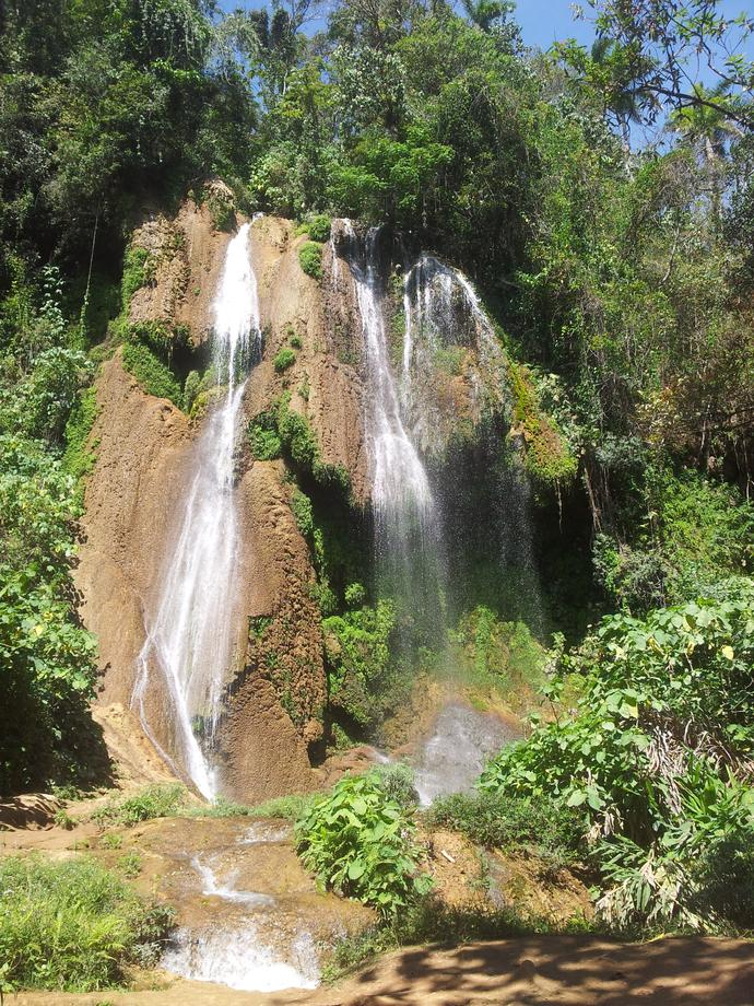 Wasserfall im Topes de Collantes Nationalpark