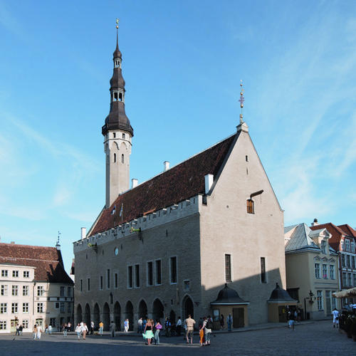 Rathausplatz in Tallinn