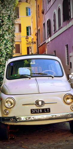 Alter Fiat in Trastevere