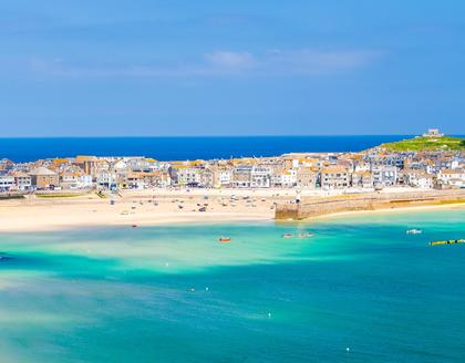 St. Ives Strandpanorama