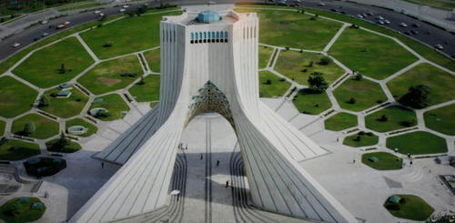 Azadi Monument in Teheran
