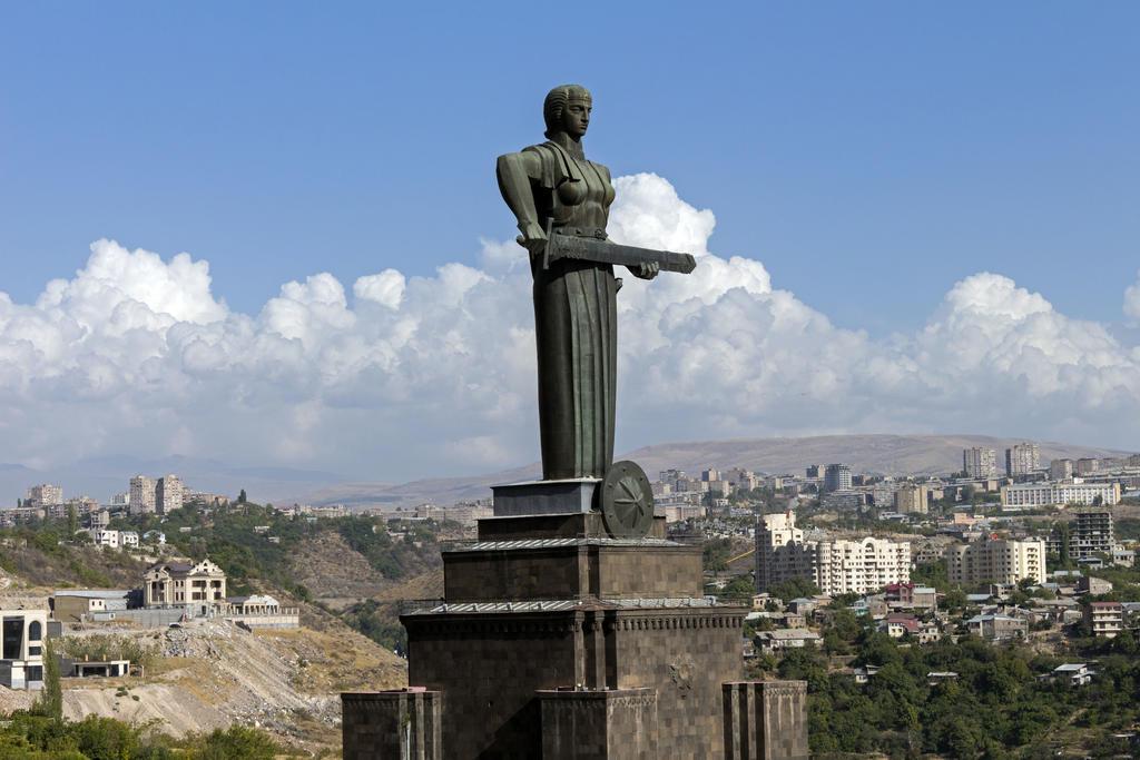 Jerewan Uraltes Zentrum Von Armenien