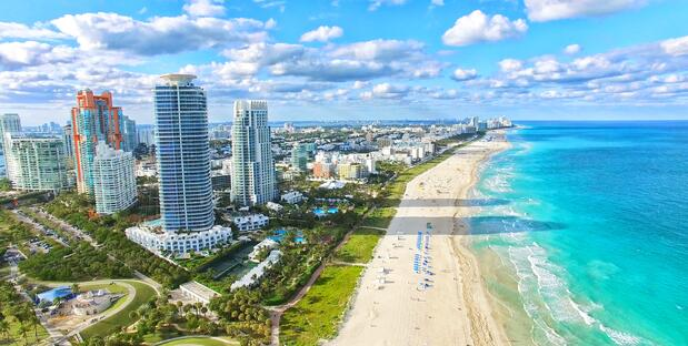 Miami Beach auf Florida Reisen