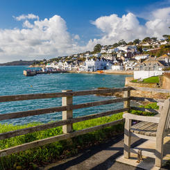 Strandpromenade in St. Mawes