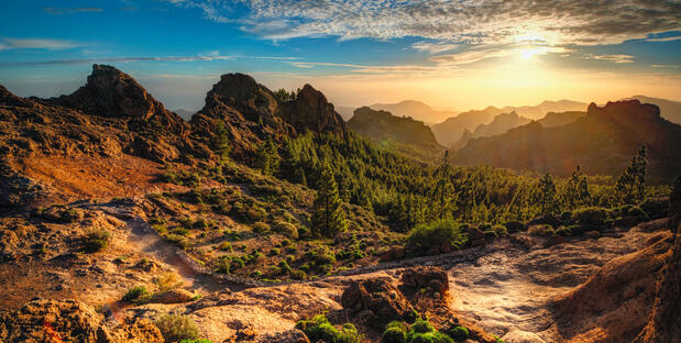 Gran Canaria: Canary Island Mountains