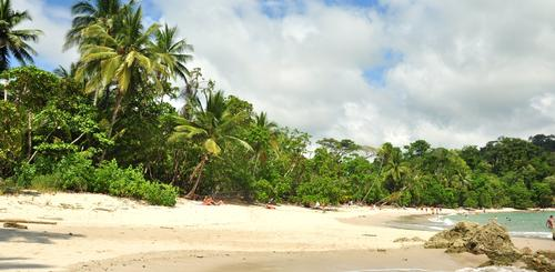 Strand im Manuel Antonio National Park